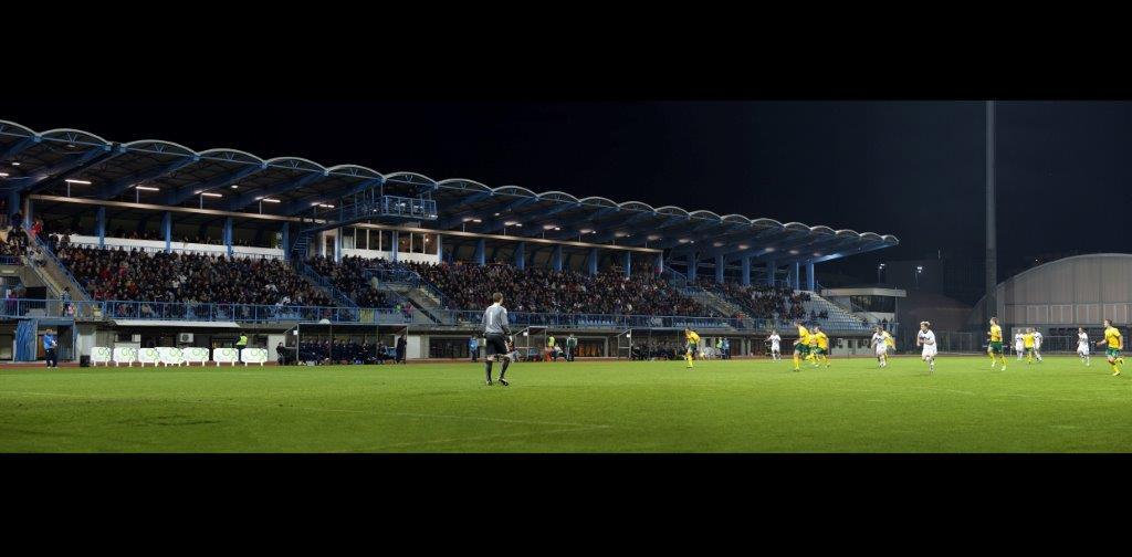Glavno nogometno igrišče NOVA GORICA; 2000