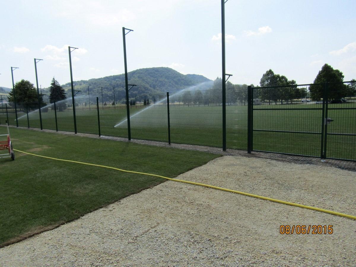 Vadbeno, termalno ogrevano nogometno igrišče, Terme Čatež, Čatež ob Savi, 2015